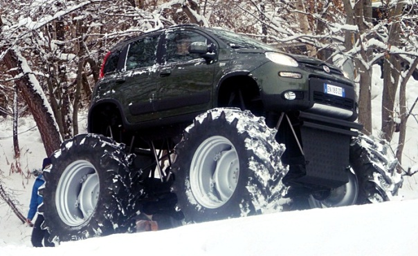 Fiat Panda 4x4 Trator 1
