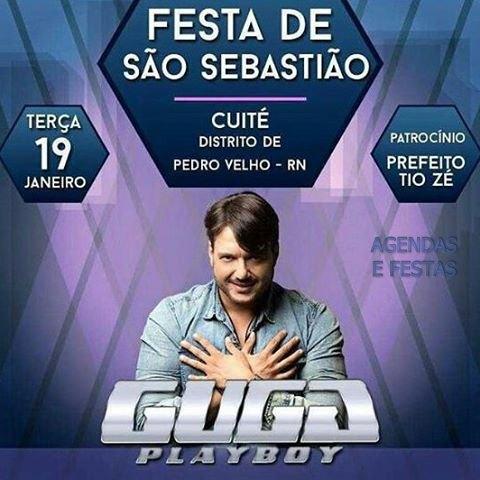 festa de São Sebastião em Cuité distrito de Pedro Velho-RN