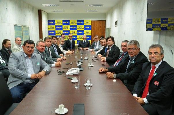 Comitiva do RN com comando nacional do PSDB (1)