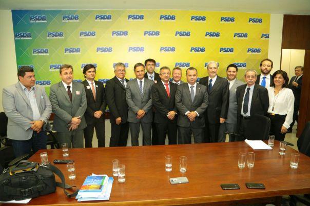 Comitiva do RN com comando nacional do PSDB (3)